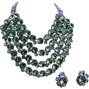 Large ROBERT SORRELL Necklace and Earring Set
