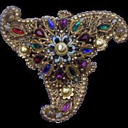 """Rare """"Thief of Bagdad"""" Korda 1940 Brooch Pin"""