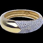Vintage Lanvin Paris Bracelet with Diamantes