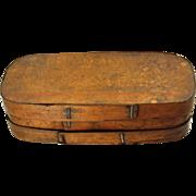 Large German Bentwood Pantry Box, 19th century