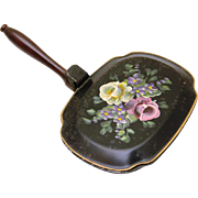 Hand-Painted Tole Silent Butler by Nashco