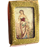Le Blond Needle Box from the 'Fancy Subject Set', mid-19th Century