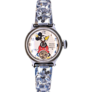 Child's Mickey Mouse Wristwatch by Ingersoll