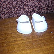 SOLD Ginnette White Shoes