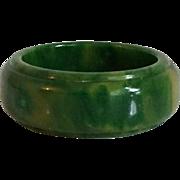 Bakelite Carved Ring