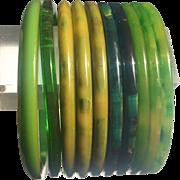 Bakelite Bangle Bracelet Spacers 10