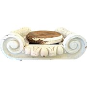 SALE Vintage Ionic Capital Architectural Salvaged for Display or Centerpiece
