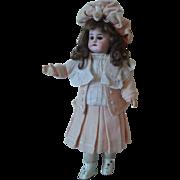 "French Market 13.5"" Walking/Turning Head Bebe Circa 1901-Factory Original"