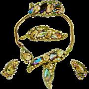 SALE Har Dragon Tooth Necklace Bracelet Brooch Earrings Set