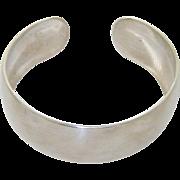 Vintage Kirk Sterling Cuff Bracelet