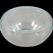 Vintage Unique Glass Vase Bowl