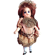 SOLD Petite 3.75-inch French type Mignonette in original clothes