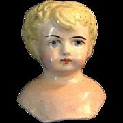 Early Paper Mâché' Shoulderhead