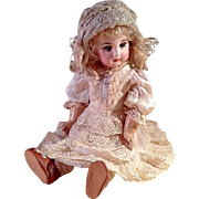 SALE Lovely Vintage Silk Dress For French or German Doll
