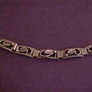 Vintage Eiler & Marloe Sterling Denmark Deco Bracelet