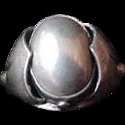 Georg Jensen Organic Sterling Silver Ring 101