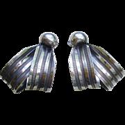 SALE Vintage Napier Earrings, circa 1940-50's, All earrings, $25