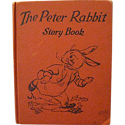 SOLD The Peter Rabbit Story Book, 1935