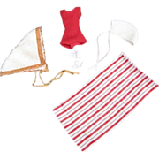 SOLD Tammy Fun in the Sun Beach Outfit, Early 1960s