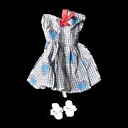SOLD Tammy Plaid Valentine Hearts Dress, 1960s - Red Tag Sale Item