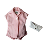 SOLD Barbie Fashion Pak Pink Blouse and White Purse, ca 1962