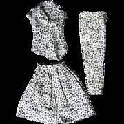 SOLD Barbie Black and White Print Mix 'n Match Fashion Pak Set - Red Tag Sale Item
