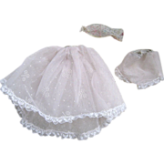 SOLD Barbie's Floral Petticoat Set ca 1962 - Red Tag Sale Item