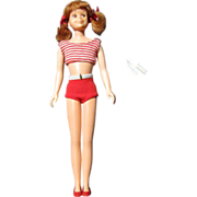 SOLD Mattel Titian Haired Skooter, Skipper's Friend, ca 1964 - Red Tag Sale Item