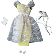 SOLD Barbie's Orange Blossom Outfit, ca 1961