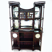 REDUCED An Eclectic Etagere