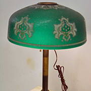 """Early""""Pittsburgh Lamp, Brass and Glass Company"""" Lamp"""