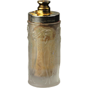 SOLD Rene Lalique French Perfume Bottle, CA: 1920's  -- as is