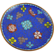 Vintage Chinese Cloisonne Pin Dish