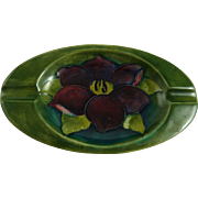 Moorcroft Clematis Ashtray
