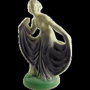 Vintage Art Deco Figural Vase Dancer