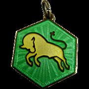 Vintage David Andersen Zodiac Pendant Taurus