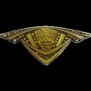 Pierre Bex Art Deco Style Pin