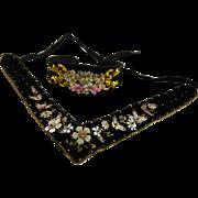 Victorian Velvet Choker and Bracelet
