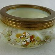 Antique C F Monroe Wavecrest Open Vanity Jar