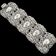 Vintage Designer Napier Art Nouveau Style Bracelet