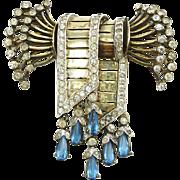 Vintage Ralph DeRosa Sterling Bow Pin