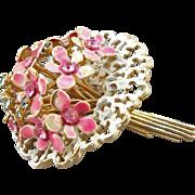Vintage Signed Hattie Carnegie Flower Bouquet Brooch