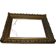 Gorgeous Antique Gesso Gilded Ornate Frame