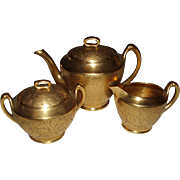SALE Fine Antique Pickard Teaset, Mint