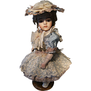 Beautiful little dress and hat for a doll 34cm or 13.4 inch.
