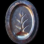Vintage Silver Plate Meat Platter