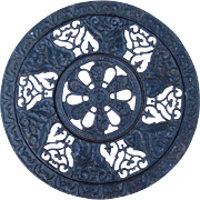 Rare, Late Victorian Cast Iron Grate, Register or Vent Cover, adjustable, Large, Mint conditio