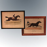 REDUCED Trotter Horse Prints ~ Currier & Ives ~