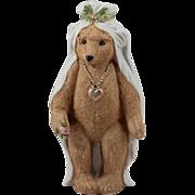 SALE Heubach~Teddy Bear~ Bisque Bride ~7 inches 1910~