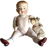 Antique 5 inch  Boy Character  790-3 All Bisque